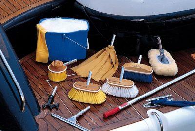 Limpeza de embarcações